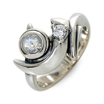 M's collection エムズコレクション  シルバー リング 指輪 ムーンストーン ホワイト 20代 30代 彼女 レディース 楽ギフ_包装 smtb-m
