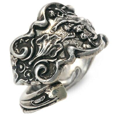 SAINTS Design セインツ  シルバー リング 指輪 ブラック 20代 30代 彼氏 メンズ 楽ギフ_包装 smtb-m