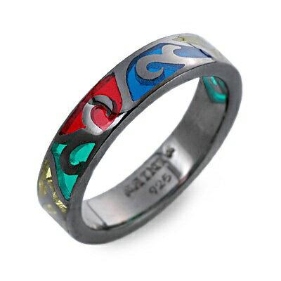 SAINTS Design セインツ  シルバー リング 指輪 ブラック 20代 30代 人気 ブランド 楽ギフ_包装 smtb-m