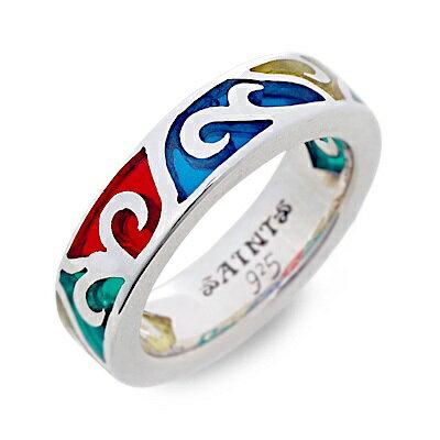 SAINTS Design セインツ  シルバー リング 指輪 ホワイト 20代 30代 人気 ブランド 楽ギフ_包装 smtb-m