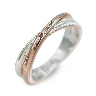 white clover ホワイトクローバー シルバー リング 指輪 ダイヤモンド ピンク 20代 30代 楽ギフ_包装 smtb-m