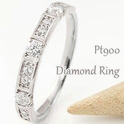 プラチナ ダイヤモンドリング ピンキーリング Pt900 diamond 指輪 婚約 記念日 ジュエリー ギフト