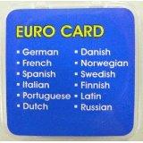 送料無料!電子翻訳機GT-V4用 オプション言語カード Euro Ver. GLC-EU12