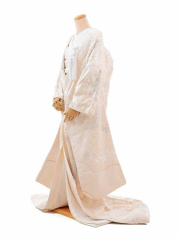 白無垢 レンタル E156 正倉院 手刺繍|☆新品足袋プレゼント☆|結婚式|白無垢レンタル|着物 レンタル|花嫁衣裳レンタル|白無垢フルセットレンタル