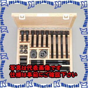 【P】【代引不可】ESCO(エスコ) M24/呼28 Tスロットボルトセット EA637F-28
