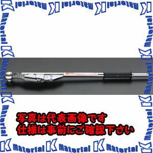 【代引不可】ESCO(エスコ) 200- 800N.m 3/4sqトルクレンチ(ラチェット式) EA723HP-12