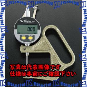 【P】【代引不可】ESCO(エスコ) 0-25mm / 0.01 デジタルシクネスゲージ EA725A-52