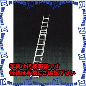 【P】【代引不可】ESCO(エスコ) 4.23-7.44m 二連はしご(伸縮調整脚) EA902A-74