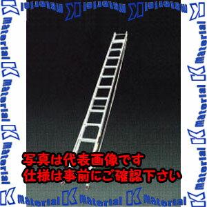 【代引不可】ESCO(エスコ) 3.80-6.60m 二連はしご(アルミ製) EA902NA-6