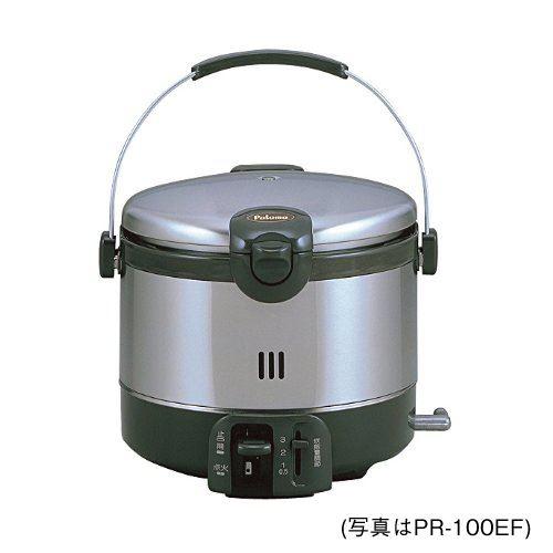 [PR-60EF-13A]【都市ガス】 パロマ ガス炊飯器 ステンレスタイプ 厚釜炎炊き 0.6L・3.3合炊き セパレート機能 【送料無料】