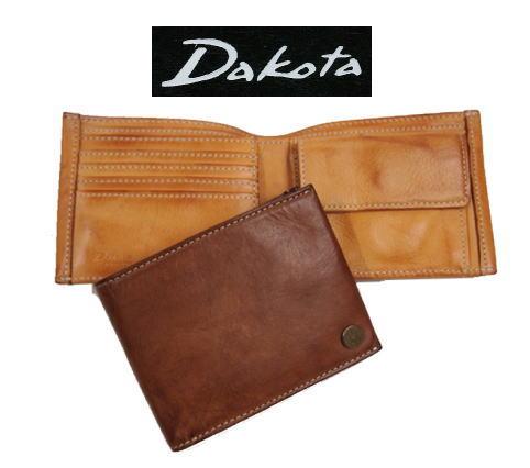 Dakotaダコタ ベルク二つ折り財布