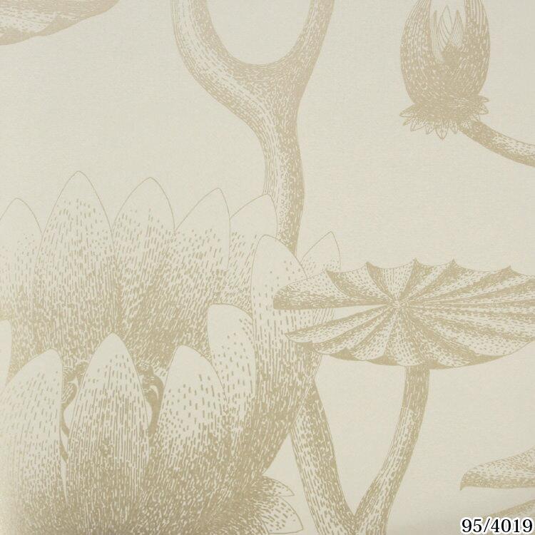 輸入壁紙 イギリス製 コール・アンド・サン Lily1ロール(52cm×10m)単位で販売フリース壁紙(不織布) 【海外取寄】