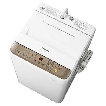 パナソニック【Panasonic】6kg 全自動洗濯機 NA-F60PB10-T(ブラウン)★【NAF60PB10】