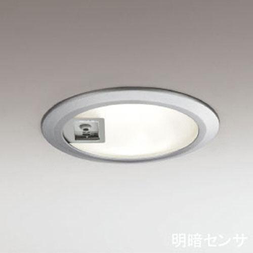 オーデリック(ODELIC) 明暗センサー付き ダウンライト(軒下用) シルバー OD062616 電球色【TC】【送料無料】