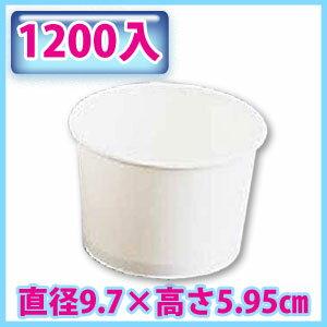 アイスクリームカップ PI-240NXKT36 (1200入)【TC】【送料無料】