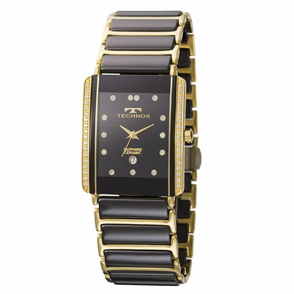 テクノス メンズ腕時計 T9557GB(ゴールド)(快適家電デジタルライフ)