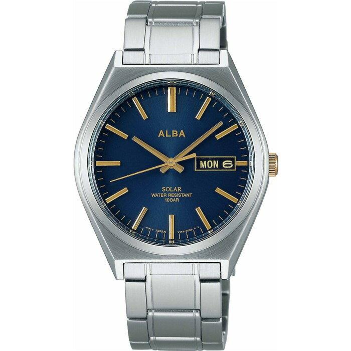 【国内正規品】 【腕時計】 AEFD536 ALBA[アルバ] 【ソーラー時計】【ステンレスバンド アナログ メンズ】【快適家電デジタルライフ】