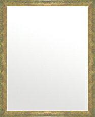 鏡 ミラー 壁掛け鏡 ウォールミラー:フロレンティーナ ベージュ 448mmx548mm