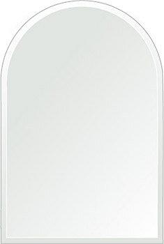 鏡 壁掛け 鏡 ミラー 壁掛け クリスタルミラーシリーズ(一般空間用) クリアーミラー クリスタルカットタイプ アーチ(Arch):c-arch300x450-9mm( 鏡 壁掛け 鏡 姿見 壁掛けミラー ウォールミラー )