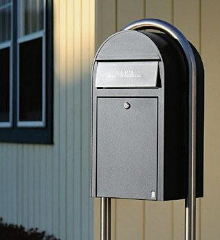 郵便受け 郵便ポスト(壁掛けポスト 壁付けポスト スタンドポスト):bSobigrandSe-bl