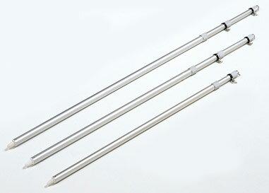 アルミ伸縮ポール FL-6065 5m 4段伸縮 アルミ製