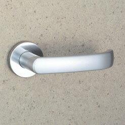 MIWA LO レバーハンドル錠一式 交換 取替え用黄銅製 373-SC空錠(間仕切り・寝室・子供部屋等)【送料無料】