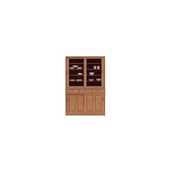 120 食器棚 キッチンボード ダイニングボード キッチン収納 キャビネット カップボード 木製 国産 完成品 引き戸 ナチュラル 北欧