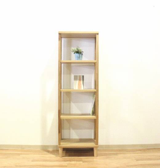 天然木オーク材使用のナチュラルなオープンシェルフオープンラック・オプション組み合わせで個性的なディスプレイ国産・日本製・木製・エコ仕様・脚付き