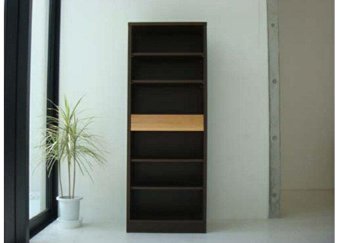 【送料込】【激安SALE】【シェルフ】 木製本格派の本棚が登場! 幅60cm 高さ160cm デスクの横に置くに最適ですよ♪ 60本箱