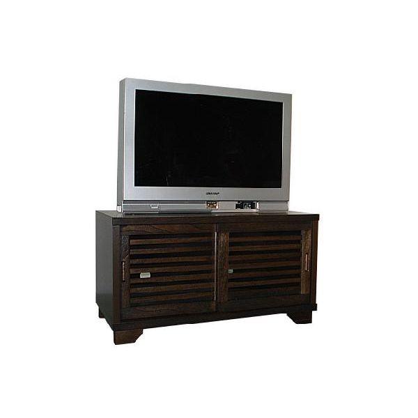 テレビボード TVボード テレビ台 和風 和室 幅90cm ブラウン 木製 送料無料