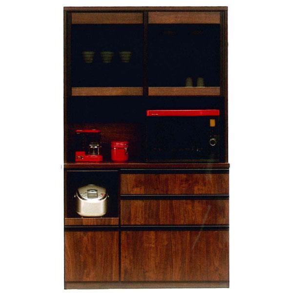 オープン食器棚 引き戸 完成品レンジボード 国産120cm幅 開梱設置 送料無料