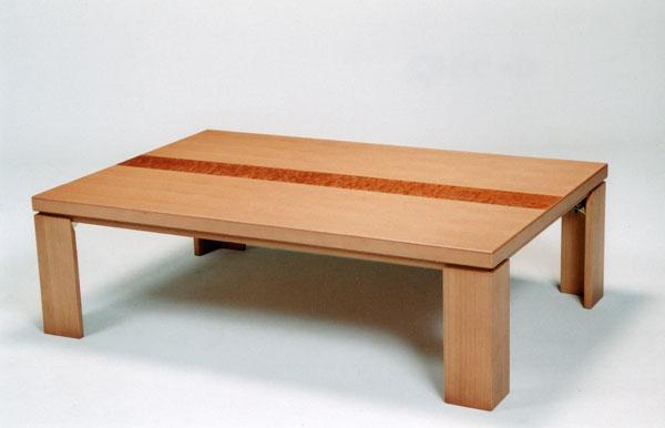 ��� コタツ テーブル 家具調折れ脚 105cm幅 「N-クラリス�軽�タイプ 国産 �料無料