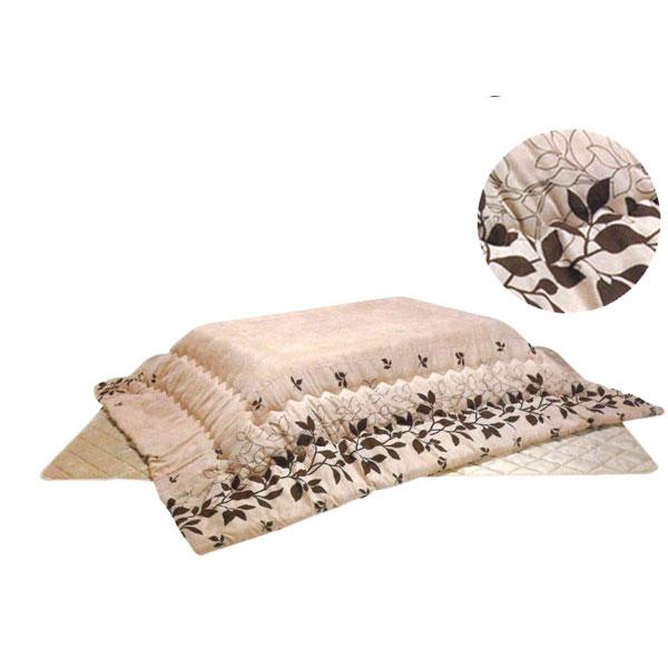 こたつ掛け敷き布団セット こたつ 暖卓 長方形「トロワ」 105-120用 ※代引不可 こたつ布団のみ