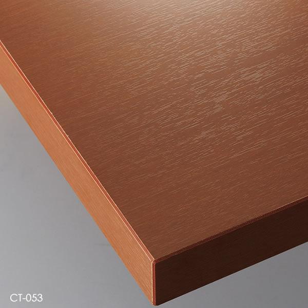 業務用 テーブル天板 オーダー カスタマイズ お好みサイズ ナチュラル ブラウン ダークブラウン ブラック メラミン化粧板 共貼り W~500×D~500mm こちらは最小サイズの価格です