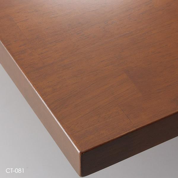 業務用 テーブル天板 オーダー カスタマイズ お好みサイズ ナチュラル ブラウン ダークブラウン ゴム集成材 W~500×D~500mm こちらは最小サイズの価格です