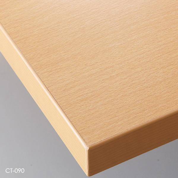 業務用 テーブル天板 オーダー カスタマイズ お好みサイズ ナチュラル ブラウン ダークブラウン ブラック メラミン化粧板 ABS樹脂エッジ W~500×D~500mm こちらは最小サイズの価格です