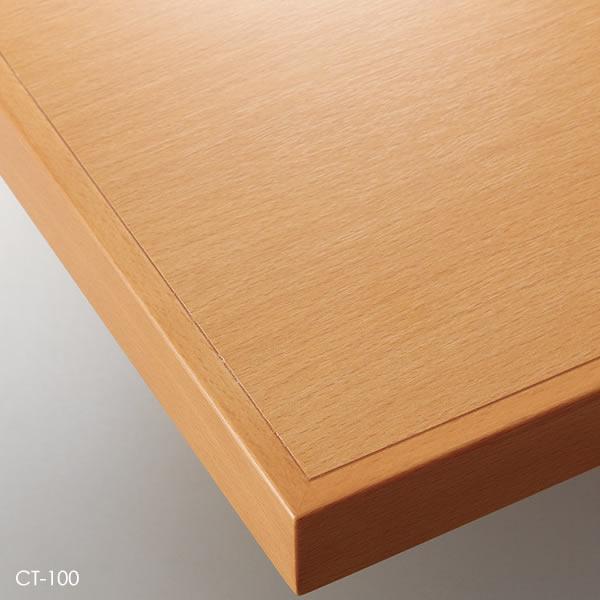 業務用 テーブル天板 オーダー カスタマイズ お好みサイズ ナチュラル ブラウン ダークブラウン ブラック オーク突板 木縁巻き W~500×D~500mm こちらは最小サイズの価格です