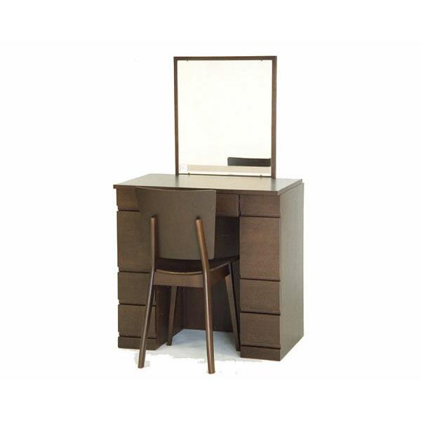 高級一面ドレッサー・鏡台チェアー付き インテリア 椅子 イス いす 引っ越し祝い 新築祝い 家具 通販