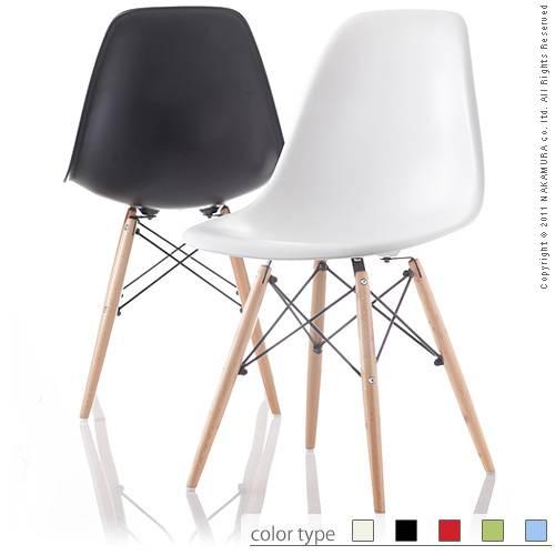 イームズシェルチェアDSW 椅子 デザイナーズチェア 名作 リプロダクト 脚 ウッド スチール オリーブ ブラック ホワイト ライトブルー レッド ミッドセンチュリー イス いす