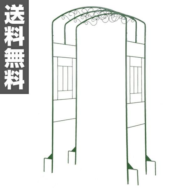 サンカ(SANKA) ローズアーチ ミニ SA-0001 モスグリーン バラ 蔓 蔦 エクステリア 【送料無料】