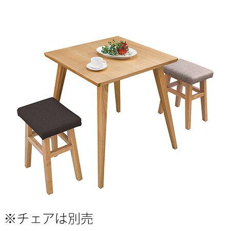 一人用 ダイニングテーブル 「Bambi/バンビ テーブル」 ナチュラルテイスト天然木 アッシュ 一人暮らし ワンルームに ナチュラル