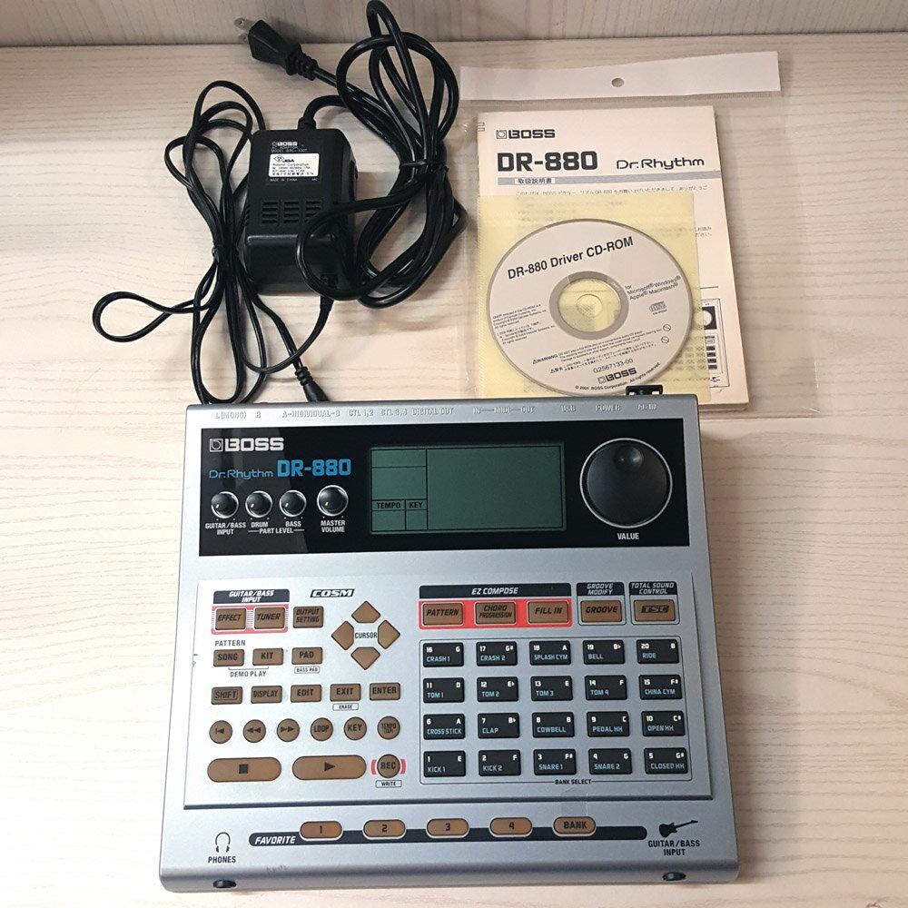 【中古】BOSS Dr.Rhythm DR-880 ボス ドクター リズム リズムマシン エフェクター