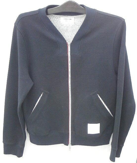 【中古】thom browne トム・ブラウン bomber jacket ジャケット サイズ2 メンズ古着 [116]