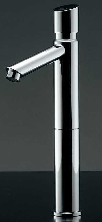 カクダイ �JEWEL BOX 沃(よ�)シリーズ】自閉立水栓(トール)716-313-13[�付穴径22~28mm・厚5~35mm]