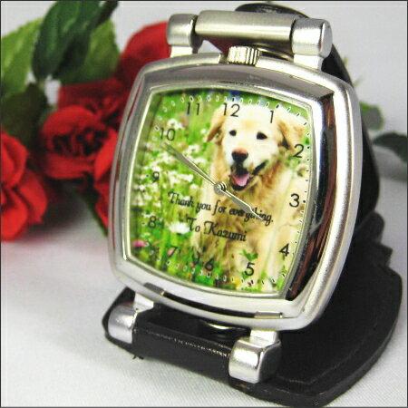 『いとしの置き時計(四角)』送料無料/各種メモリアル記念品として!出産祝い 出産内祝い 贈り物 名入れ 誕生日 ギフト プレゼント