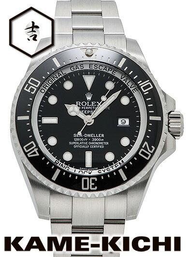 【中古】ロレックス 3年保証 シードゥエラー ディープシー Ref.116660 ブラック (ROLEX Sea-Dweller Deep Sea)【楽ギフ_包装】
