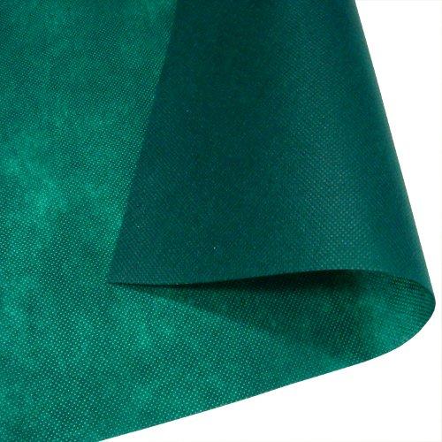 【箱】不織布テーブルクロス150cm角(50枚)ダークグリーン【送料無料】