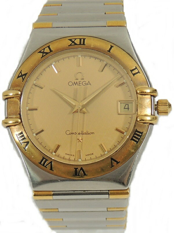 OMEGA オメガ 1312 コンステレーション 金文字盤 メンズ 腕時計 クォーツ 【中古】かんてい局 【楽ギフ_包装選択】