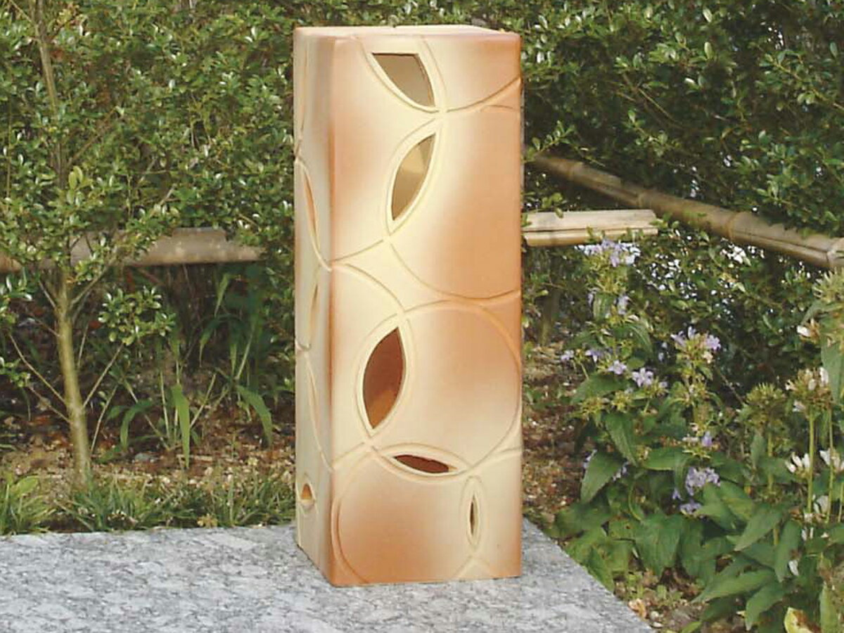照明 ガーデン照明 外灯 信楽焼 のあかり 洋風ライト2型 (エクステリアガーデン照明)