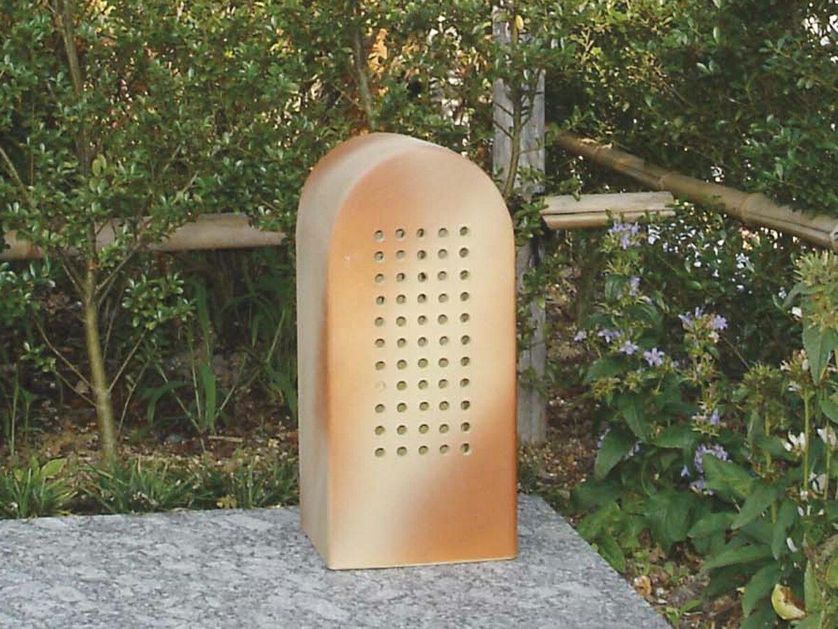 照明 ガーデン照明 外灯 信楽焼のあかり 洋風ライト4型 (エクステリアガーデン照明)